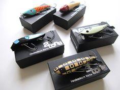 Surface Diary 水面の日記 » 2tone handmade lures