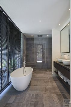 If you have a small bathroom in your home, don't be confuse to change to make it look larger. Not only small bathroom, but also the largest bathrooms have their problems and design flaws. Upstairs Bathrooms, Dream Bathrooms, Amazing Bathrooms, Luxury Bathrooms, Bathrooms Online, White Bathroom, Modern Bathroom, Small Bathroom, Bathroom Ideas