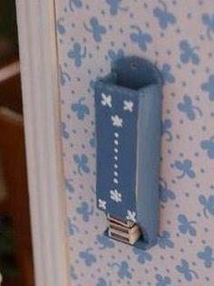 how to: kitchen matchbox holder