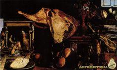 Naturaleza muerta, en segundo plano: Cristo con Marta y María - Obra - ARTEHISTORIA V2