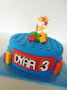 Lego taart / lego cake