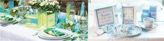 Blå - HOBBYKUNST Norge - Dekk festbordet i blå farger med Table & Style serien. For flere bilder se: http://www.hobbykunst-norge.no/display.aspx?menuid=670