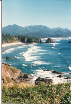Cannon Beach from Ecola Point, OR