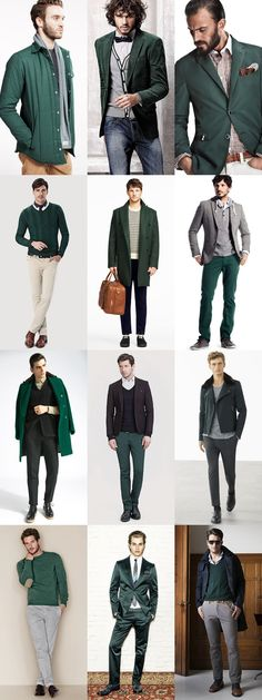 Green is a hot colour this year - I prefer it as an accent in a scarf or toned down with some neutral browns/greys.