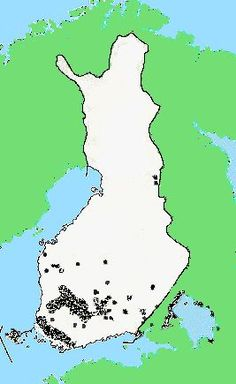 Suomen asutus rautakauden lopulla  Kuva: Museovirasto
