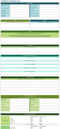Nonprofit Marketing Plan Template Inspirational Non Profit Strategic Plan Excel Template Sample Strategic Plan, Strategic Planning Template, Plan Marketing, Marketing Strategy Template, Non Profit Marketing, Mobile Marketing, Marketing Strategies, Inbound Marketing, Media Marketing