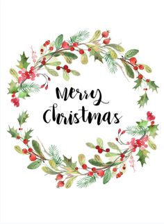 Merry Christmas to our wonderful customers! We hope you have a fabulous day🎅🎄 Merry Christmas Images, Noel Christmas, Christmas Greetings, All Things Christmas, Christmas Wreaths, Christmas Crafts, Christmas Decorations, Watercolor Christmas Cards, Christmas Drawing