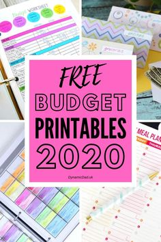 A collection of the top free budgeting printables including budget worksheets, meal planners, grocery lists and cash envelopes! Best Budgeting Tools, Budgeting Worksheets, Budgeting Money, Monthly Budget Sheet, Budget Sheets, Budget Envelopes, Cash Envelopes, Printable Planner, Printables