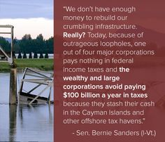 No more corporate welfare. VOTE OUT the GOP in NOV and FIX THIS!