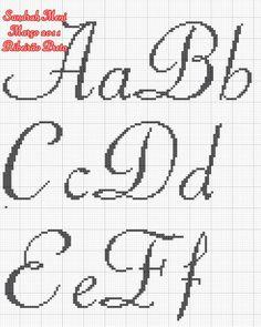Cross Stitch Alphabet Patterns, Cross Stitch Letters, Beaded Cross Stitch, Letter Patterns, Cross Stitch Flowers, Cross Stitch Embroidery, Stitch Patterns, Snitches Get Stitches, Cross Stitch Tutorial