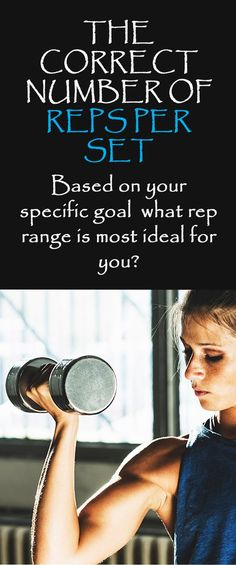Based on your specific goal what rep range is most ideal for you? #repsperset #fitnesstips #workouttips #fitnessguide #musclebuilding #strengthtraining