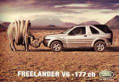 Land Rover Freelander ad