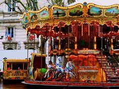 Avignon Carnival Ride