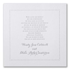 Noteworthy - Invitation. Available to order at Persnickety Invitation Studio.