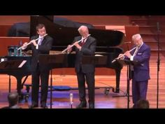 Sir James Galway - Reicha Sinfonico for 4 Flutes (Part 1)