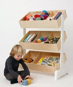 This would be great storage for my sons' trains and cars.
