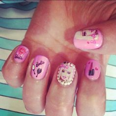 barbie nails #nails #barbie #brayola
