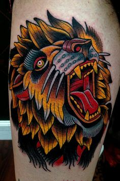 Jonathan Montalvo - lion tattoo Best Lion tattoo I've seen