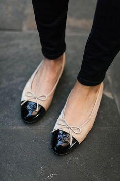 Ballerina Leather Snap Clip