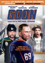 The sports comedy Goon stars Seann William Scott as Doug Glatt, a slacker from a rich family who discovers he has a knack for hockey brawls. Dragged to a game by his best friend, Doug punches out the visiting team's toughest player when the angered thug rushes into the stands. The home team quickly recruits Doug even though he can't skate and encourages him to beat up their opponents. ~ Perry Seibert, Rovi