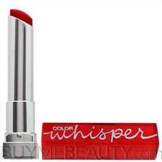 whisper lipstick, maybellin color, color whisper