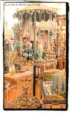 Our jewelry room is a turquoise haven. I can't get enough of this stone.