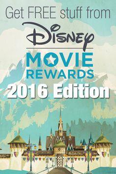 Disney Movie Rewards has updated their website but you still get FREE stuff!