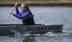 Concrete Canoe Competition in Natick, Sunday April 24, 2016 .