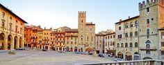 Camping Le GINESTRE op 6 km van Arezzo is een aanrader: mooi zwembad, ruim opgezet, lekker rustig en 's avonds goed donker. Mooie plek in zuid-toscane!