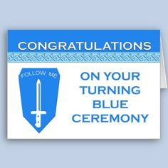 Turning blue is a ceremony reserved for infantrymen at Fort Benning, Ga.  It is the only location that holds this service for the men and women who complete basic training.  also available is a binder to hold photos and keepsakes of the day. Military Spouse, Military Army, Army Divisions, Us Army Infantry, Fort Benning, Turn Blue, Army Mom, National Guard, Congratulations Card