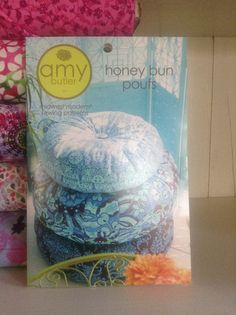 Amy BUtler Pattern for Honey Bun Pouf – Quilt Store Next Door Honey Buns, Amy Butler, Poufs, Decorative Boxes, Quilts, Sewing, Store, Pattern, Comforters