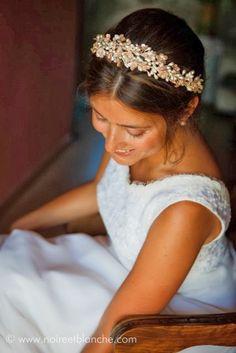 Tocados Le Touquet: corona brotes de azahar