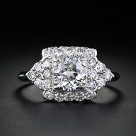I would NOT say no to a big ring like this!!