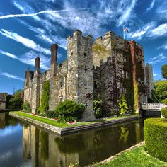 My mother's childhood manor, Hever Castle