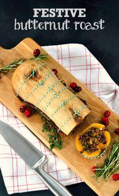 Festive Butternut Roast - Vegetarian & Vegan