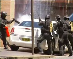 #OMG! Terrorist In Chrysler 300 Is No Match For Tough Aussie Riot Squad. They mean business! Hit the pic to watch the #unbelievable footage...