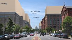 How D.C. could look if the height restriction changes - The Washington Post