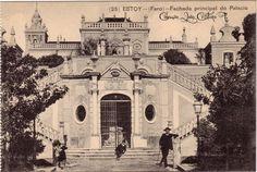 Faro : Fachada principal do Palacio de Estoi