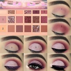 Eyeshadow Tutorials For Perfect Makeup – So Easy Even Beginners Can Learn eye makeup tutorial; eye makeup for brown eyes; eye makeup for brown eyes; Eye Makeup Steps, Makeup Eye Looks, Simple Eye Makeup, Natural Eye Makeup, Smokey Eye Makeup, Face Makeup, Dewy Makeup, Organic Makeup, Smoky Eye