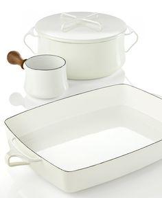 Dansk Cookware, Kobenstyle White Collection - Serveware - Dining & Entertaining - Macy's