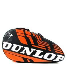 Paletero de pádel Dunlop Play en color Naranja  http://www.winpadel.com/complementos-de-padel/paletero-de-padel-dunlop-play-naranja