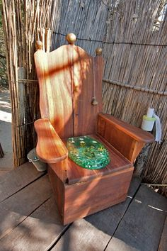 Luxury toilet seat at the Caprivi Strip's wackiest campsite - Ngepi Camp Luxury Toilet, Camping Survival, Mother And Father, Outdoor Life, Campsite, Lodges, Outdoor Activities, Followers, Places To Go