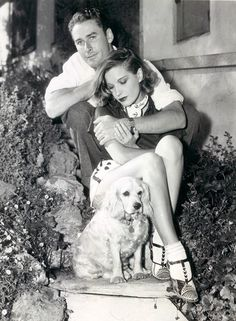 Errol Flynn and Lili Damita~ I am dating this late 30's...BUT if anyone knows different-please correct