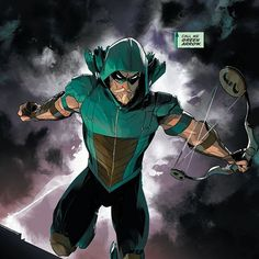 Oliver Queen is back in Seattle, and he's bringing that beautiful goatee with him! What did you think of GREEN ARROW: REBIRTH #1? #DCRebirth