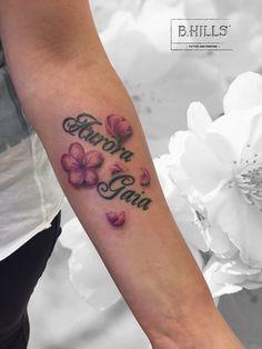 Flower Fresh Done #Flower #tattoo #cherryflower #cherry #ink #inkart #flowertattoo #flowerink #bhillstattoocompany #cittadella #tatuatoriinveneto #art #colortattoo #laraladyoktopustattooartist #tattooartist #ladytattoo #lettering #colortattoo #shadeofpink #bassanodelgrappatattoo #cittadellatattoo #venetotattoo #inkyourskin #inked #inkedmagazine #tattooitalia #tattoolife #daughter #fioritattoo #lettering