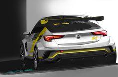 Nieuwe Opel Astra TCR maakt debuut op 15 Oktober aanstaande