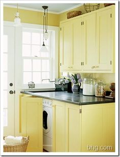 cabinets to cover your washer/dryer?  never thought about that...
