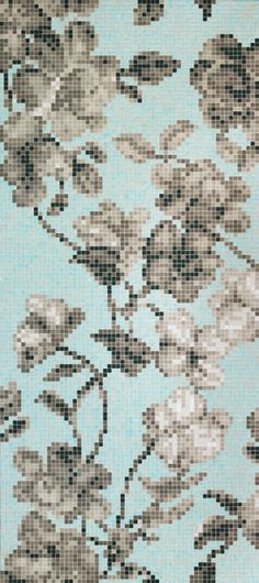 bisazza hanami azzurro mosaics - Google Search