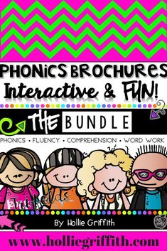 These fluency and comprehension passages and activities are interactive, fun, and perfect for beginning readers. Each tri-fold focuses on a targeted phonics skill and also reinforces fluency and comprehension. While using each brochure, students get the opportunity to learn a new phonics skill and practice that skill in the context of reading for comprehension. #HollieGriffithTeaching #Literacy #TeacherResources #1stGrade