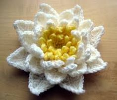 Image result for crochet lotus flower pattern